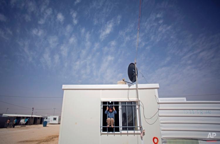 Mideast Jordan Refugee Life Photo Essay