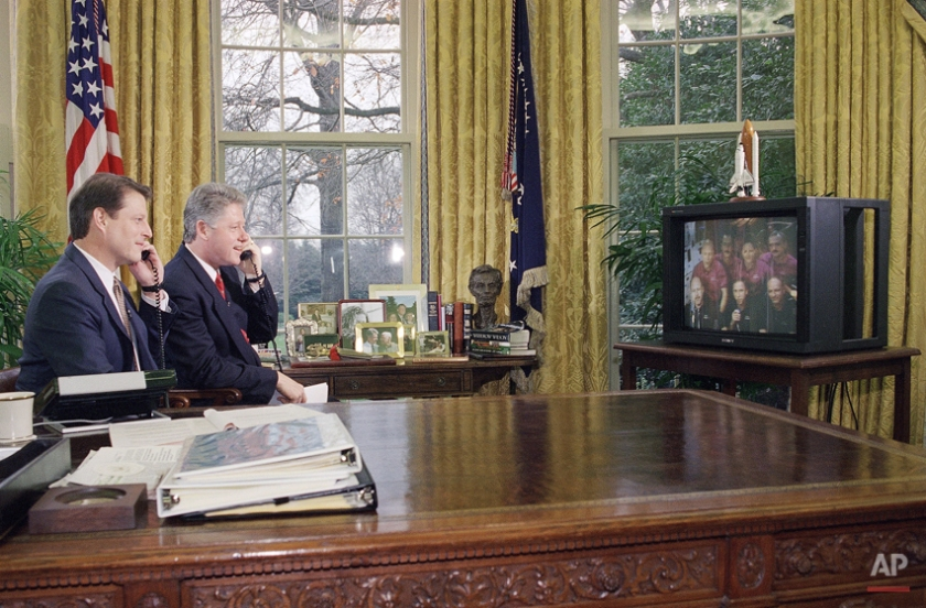 Bill Clinton, Al Gore