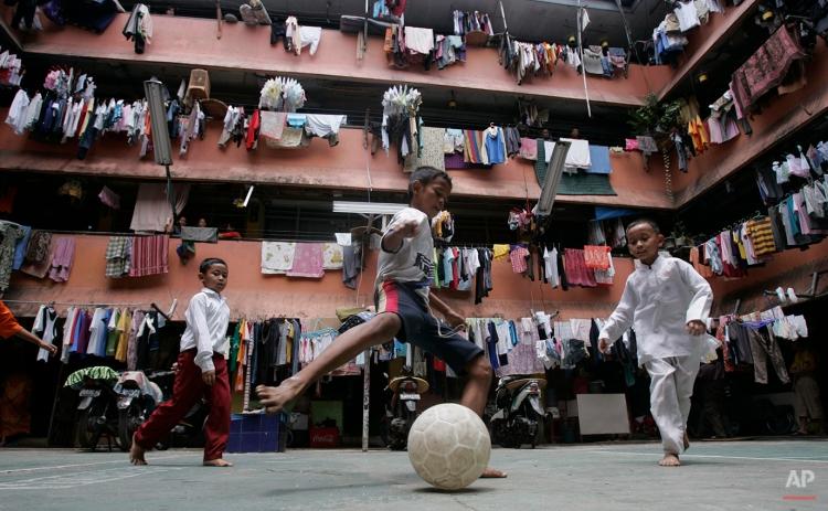 APTOPIX Indonesia Daily Life