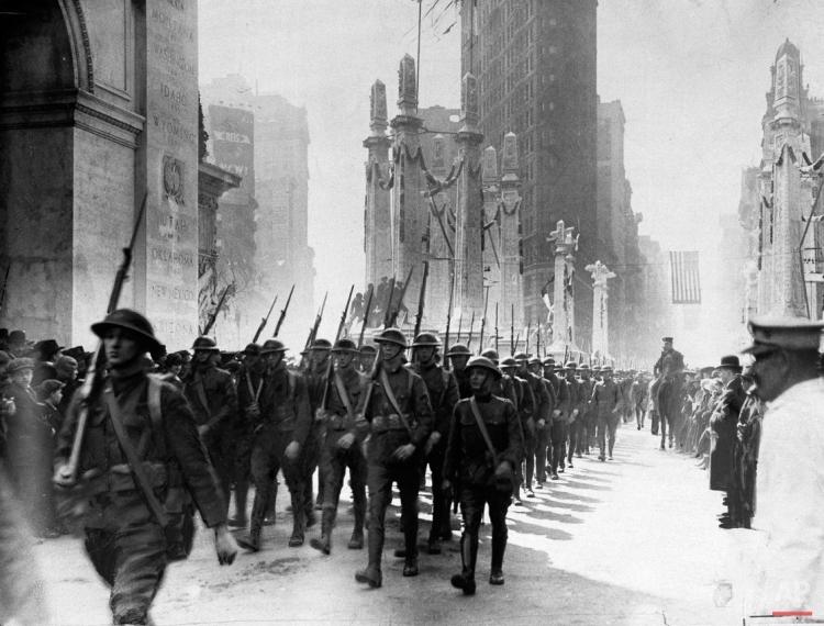 WWI U.S. Homecoming