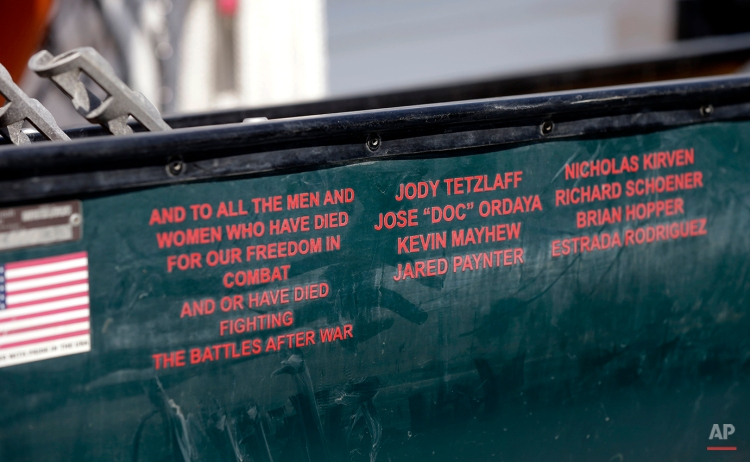 Paddle Off The War Photo Essay