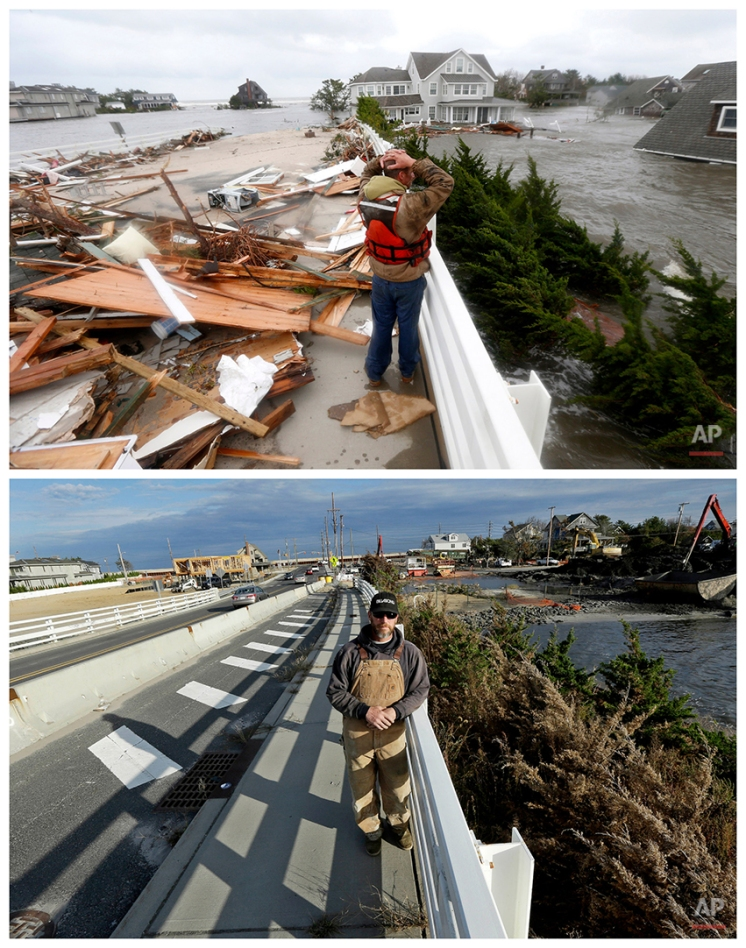 Superstorm Sandy: Before and After