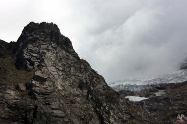 The Huascaran glacier is seen in the Huascaran National Park in Huaraz, Peru, Tuesday, Dec. 2, 2014. (AP Photo/Rodrigo Abd)