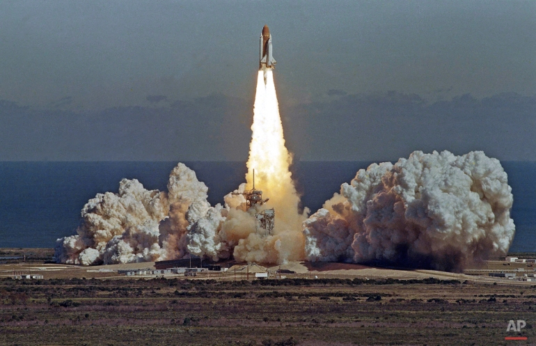 space shuttle explosion 1985 - photo #21