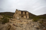 A decaying building near an abandoned mining operation, near Guerrero Negro, Mexico's Baja California peninsula, March 3, 2015. Precious metals have been mined in the area since the 18th century. (AP Photo/Dario Lopez-Mills)