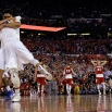 Duke players celebrate after the NCAA Final Four college basketball tournament championship game against Wisconsin, Monday, April 6, 2015, in Indianapolis. (AP Photo/David J. Phillip)
