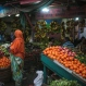 In this Monday, May 18, 2015 photo, a Djiboutian woman shops for vegetables in the market in Djibouti. (AP Photo/Mosa'ab Elshamy)