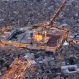 In this aerial view of the holy Muslim Shiite shrine of Imam Moussa al-Kazim, pilgrims gather to commemorate his death, in the Shiite district of Kazimiyah, Baghdad, Iraq, Wednesday, May 13, 2015. (AP Photo/Hadi Mizban)