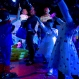 Children play with a bubble machine as they dance at a Mother's Day-themed disco dance party for children in Beijing, Sunday, May 10, 2015. Although not an official holiday, observance of Mother's Day is growing in China, a society that traditionally values filial piety. (AP Photo/Mark Schiefelbein)