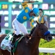 Victor Espinoza reacts after guiding American Pharoah to win the 147th running of the Belmont Stakes horse race at Belmont Park, Saturday, June 6, 2015, in Elmont, N.Y. American Pharoah became the first horse since Affirmed in 1978 to win the Triple Crown. (AP Photo/Bill Kostroun)