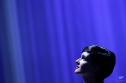 Jury member Paz Vega attends the opening ceremony of the 72nd edition of the Venice Film Festival in Venice, Italy, Wednesday, Sept. 2, 2015. The 72nd edition of the festival runs until Sept. 12. (AP Photo/Andrew Medichini)