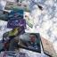 Political campaign posters fill a lamp post in Guatemala City, Saturday, Sept. 5, 2015. (AP Photo/Esteban Felix)