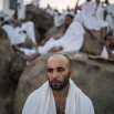 Muslim pilgrims pray on a rocky hill called the Mountain of Mercy, on the Plain of Arafat, near the holy city of Mecca, Saudi Arabia, Wednesday, Sept. 23, 2015 during the hajj pilgrimage. The faithful believe that prayer here on this day is a chance for rebirth, an opportunity to wipe past sins clean. (AP Photo/Mosa'ab Elshamy)