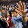 Liberty University students pray before a speech by Democratic presidential candidate, Sen. Bernie Sanders, I-Vt., at Liberty University in Lynchburg, Va., Monday, Sept. 14, 2015. (AP Photo/Steve Helber)
