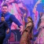 Bollywood actors Salman Khan, left and Sonam Kapoor dance at a Garba event to promote their upcoming movie Prem Ratan Dhan Payo in Ahmadabad, India, Wednesday, Oct. 21, 2015. Garba is a traditional dance of western Gujarat state held during the Navratri festival. (AP Photo/Ajit Solanki)