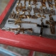 Necklace pendants in the shapes of weapons, crosses and hearts are for sale at a shop in Iguala, Mexico, a city that for decades was one of Mexico's top destinations for jewelry shoppers, Dec. 3, 2015. According to the new Mayor Esteban Albarran Mendoza, at one time his city was only second to Guadalajara in gold sales. But in the year since 43 students disappeared at the hands of the police and drug gangs, thrusting the city on to the world's map, jewelry sales have dropped 70 to 80 percent. (AP Photo/Dario Lopez-Mills)