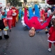 Israeli Arab Christians perform at the annual Christmas parade in the northern Israeli city of Nazareth, Israel, on Christmas Eve, Thursday, Dec. 24, 2015. (AP Photo/Ariel Schalit)