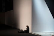 A man works on his laptop during the Mobile World Congress Wireless show in Barcelona, Spain, Wednesday, Feb. 24, 2016. (AP Photo/Francisco Seco)