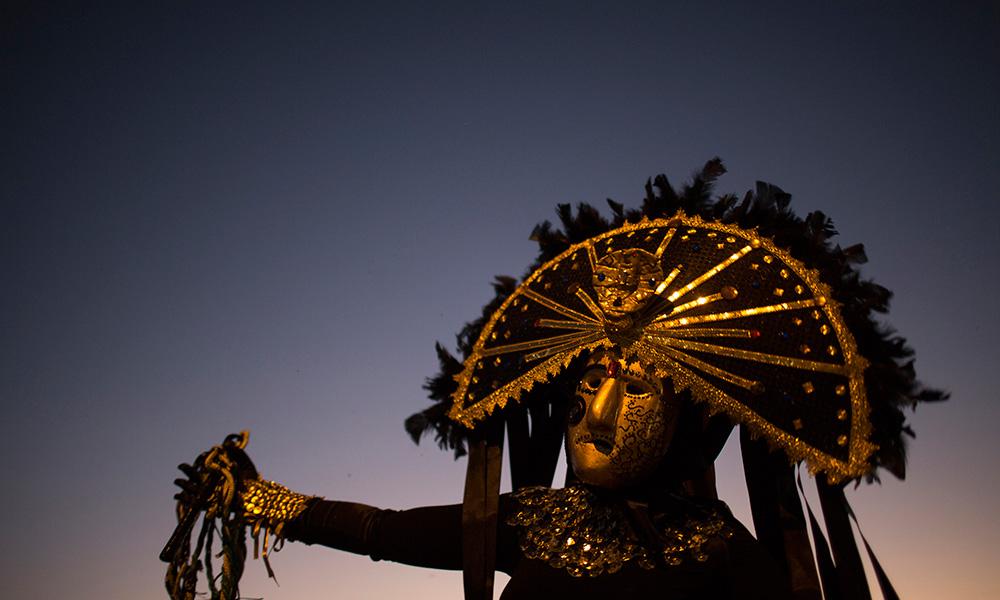 Brazil Caretas Carnival