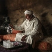 Hajj Saeed, 56, an Amazigh villager, pours tea for guests at his home in the Middle Atlas town of Tounfit, near the province of Midelt, central Morocco on Friday, Feb. 5, 2016. Across North Africa, the Berbers number about 50 million. At least 15 million Moroccans are Amazigh, divided into different groups according to their dialects. While they speak the native Amazigh language of Tamazight, which has a large number of dialects and recently gained recognition as an official language in Morocco, many have adopted Arabic as part of a long process of Arabization and Islamization. (AP Photo/Mosa'ab Elshamy)