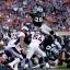 Carolina Panthers' Jonathan Stewart (28) scores a touchdown during the first half of the NFL Super Bowl 50 football game Sunday, Feb. 7, 2016, in Santa Clara, Calif. (AP Photo/Jeff Chiu)