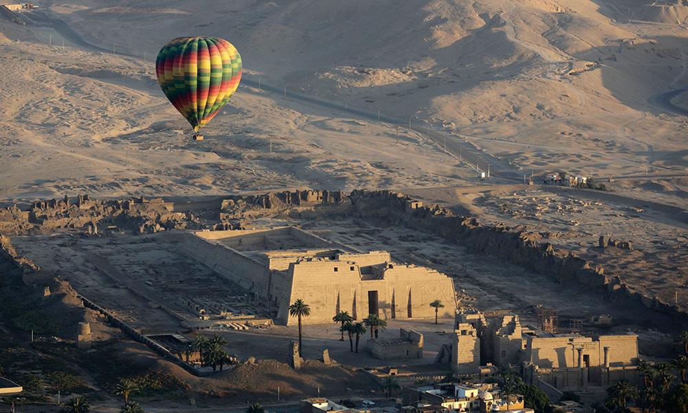 Ballooning Over Luxor,Egypt
