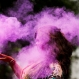 A Bangladeshi woman shuts her eyes as colored powder is smeared on her face during celebrations marking Holi, the Hindu festival of colors, in Dhaka, Bangladesh, Wednesday, March 23, 2016. The festival of colors, by painting each other in bright pigments, distributing sweets and squirting water at one another. The holiday celebrated mainly in India and Nepal marks the beginning of spring and the triumph of good over evil. (AP Photo/A.M. Ahad)