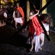 """In this March 25, 2016 photo, Paraguayan actors perform the """"Via Crucis"""" at the San Geronimo neighborhood in Asuncion, Paraguay. Christians around the world are marking the death of Jesus Christ ahead of Easter Sunday. (AP Photo/Jorge Saenz)"""