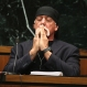 Hulk Hogan, whose given name is Terry Bollea, takes a moment as attorneys talk to the judge in court on Tuesday, March 8, 2016, during his trial against Gawker Media, in St Petersburg, Fl. Hogan and his attorneys are suing Gawker for $100 million, saying that his privacy was violated, and he suffered emotional distress after Gawker posted one minute and forty one seconds of a sex tape filmed of Hogan and his then-best friend's wife. (John Pendygraft/Tampa Bay Times via AP, Pool)