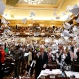 Representatives throw papers up in the air at the conclusion of the final day of the Georgia General Assembly at the capitol in Atlanta. State lawmakers finished their annual legislative session on Thursday, March 25, 2016. (AP Photo/Jason Getz)