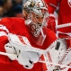 Detroit Red Wings goalie Petr Mrazek (34) stops a Montreal Canadiens shot in the first period of an NHL hockey game, Thursday, March 24, 2016 in Detroit. (AP Photo/Paul Sancya)