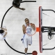 North Carolina forward Brice Johnson (11) reacts after dunking the ball against Providence during the second half of a second-round men's college basketball game in the NCAA Tournament, Saturday, March 19, 2016, in Raleigh, N.C. North Carolina won 85-66. (AP Photo/Gerry Broome)