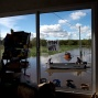 In this April 28, 2016 photo, people row boats on a flooded street of Villa Paranacito, Entre Rios, Argentina. The Argentine Red Cross estimates that around 30,000 people have been affected after rains swelled rivers, swamping fields and towns nationwide. (AP Photo/Natacha Pisarenko)