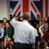 U.S. President Barack Obama takes questions during a town hall meeting with an audience from the U.S. Embassy's Young Leaders UK program at Lindley Hall, the Royal Horticultural Society, in London, Saturday, April 23, 2016. (AP Photo/Matt Dunham)