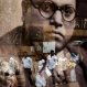 People are reflected on the glass of a framed photograph of Bhimrao Ambedkar, as they visit a memorial dedicated to him, on his birth anniversary in Mumbai, India, Thursday, April 14, 2016. Ambedkar, an untouchable, or dalit, and a prominent Indian freedom fighter, was the chief architect of the Indian Constitution, which outlawed discrimination based on caste. (AP Photo/Rajanish Kakade)