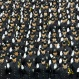 New police officers take the oath of office during the New York City Police Department Police Academy graduation ceremony, Friday, April 1, 2016, at Madison Square Garden in New York. (AP Photo/Mary Altaffer)