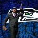 Alabama's Jarran Reed celebrates after being selected by the Seattle Seahawks as the 49th pick in the second round of the 2016 NFL football draft, Friday, April 29, 2016, in Chicago. (AP Photo/Charles Rex Arbogast)