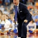 North Carolina head coach Roy Williams yells during the second half of the NCAA Final Four tournament college basketball semifinal game against Syracuse, Saturday, April 2, 2016, in Houston. (AP Photo/Eric Gay)