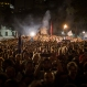 """People gather at the Plaza XV, during the """"Women's March"""" in Rio de Janeiro, Thursday, June 2, 2016. Hundreds marched in the streets of down town Rio de Janeiro to show their support for suspended Brazilian President Dilma Rousseff. (AP Photo/Felipe Dana)"""