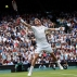 Andy Murray of Britain plays a return to Liam Broady of Britain during their men's singles match on day two of the Wimbledon Tennis Championships in London, Tuesday, June 28, 2016. (AP Photo/Ben Curtis)
