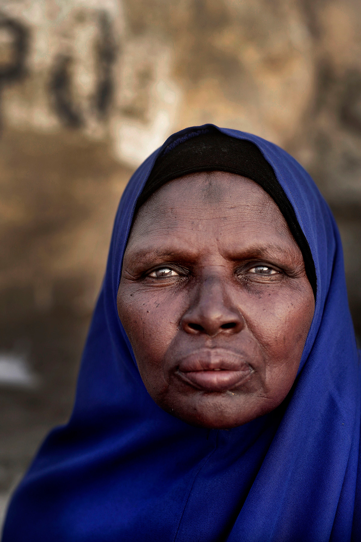 Faces of the female faithful at the hajj
