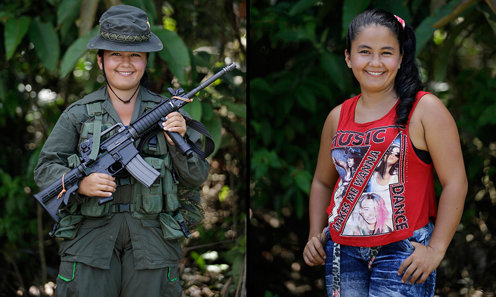 Colombia's Rebel Portraits